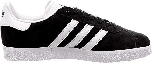 adidas Gazelle, Zapatillas de deporte Unisex Adulto, Varios colores (Core Black/White/Gold Metalic), 36 2/3 EU