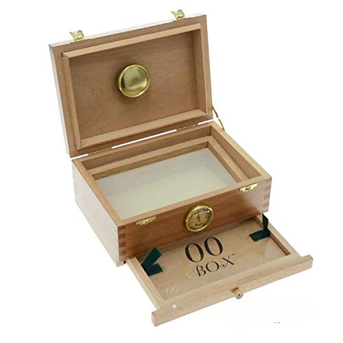 Caja de madera polinizadora para curado 00Box - Pequeña (00