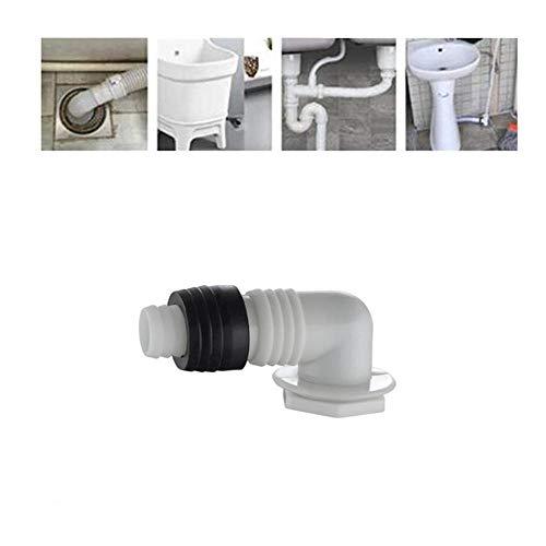 Bodenablaufanschluss,Spezialanschluss FüR Waschmaschinenablauf,Geeignet FüR KüChenspüLe,Wandreihe,Waschbecken,Moppbecken,Waschmaschine-1 StüCk