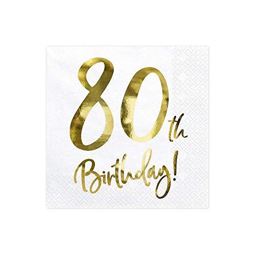 Servietten Geburtstag