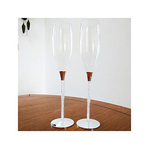 La Mejor Selección de Copas de champaña con tallo hueco comprados en linea. 5