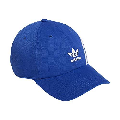 adidas Originals Superstar - Gorra ajustable - 978683, Gorra ajustable de poliéster reciclado Superstar, Talla única, Team Royal Azul