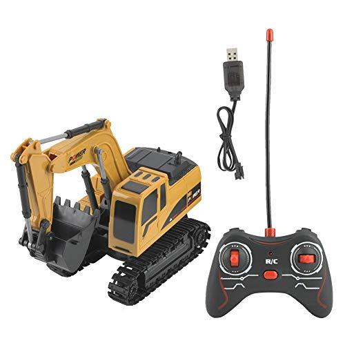 Voluxe Camión con mando a distancia, excavadora de vehículos eléctricos, juguete de...