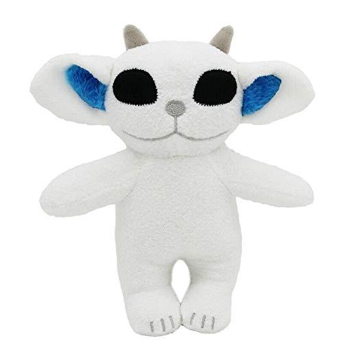 White Soft Ned Plush Doll Toy 8 inch