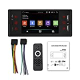 Car Audio Receivers, Touch Screen Car Stereo, Car Wireless Audio FM Radio USB Aux Mp5 Player, Supports Mirror Link USB
