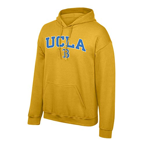 Top of the World Elite Fan Shop NCAA Men's UCLA Bruins Hoodie Sweatshirt Team Color Arch UCLA Bruins Gold XX Large