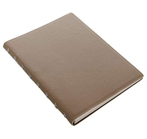 Filofax Saffiano Notizbuch, A5, nachfüllbar, Rehbraun