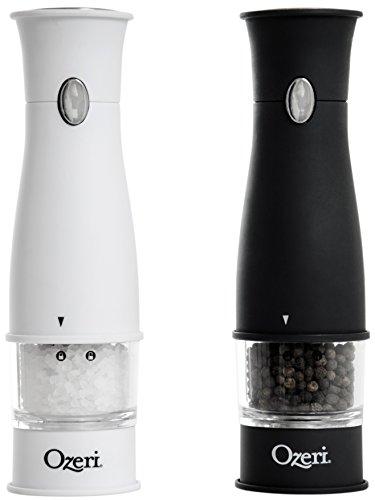 Ozeri Artesio Electric Salt and Pepper Grinder Set, BPA-Free