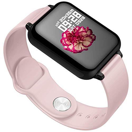ZMY smart watch, fitness tracker touch screen waterdicht IP68 fitness horloge, met hartslag monitoring stappenteller slaapbewaking stopwatch, geschikt voor jongens en meisjes