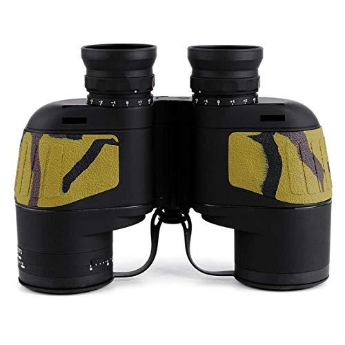 J-Clock Binoculares 10X50 Zoom Telescopio con telémetro Incorporado Binocular HD High Times a Prueba Agua