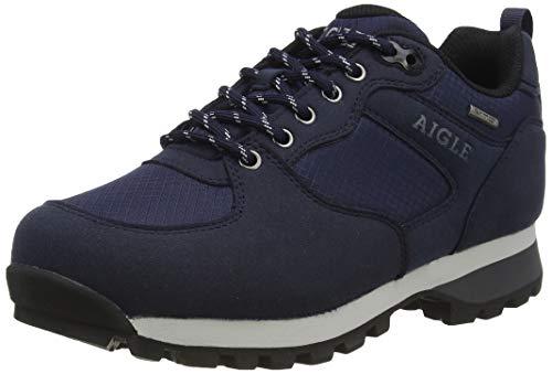 Aigle Damen Plutno W Mtd Sneaker, Blau (Darknavy/Pewter 001), 39 EU