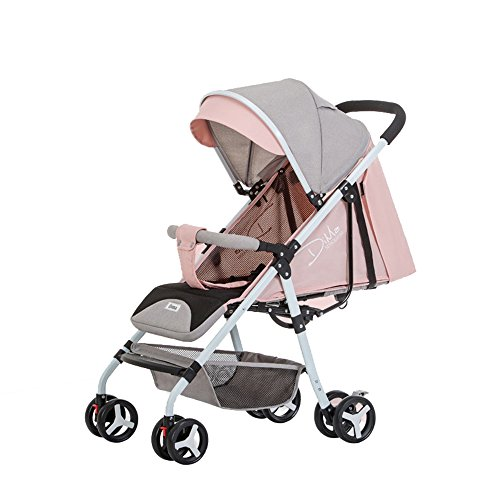 Fantastic Prices! Goquik 4-Wheel Baby Stroller Ultralight Baby Seated Reclining Folding Stroller New...
