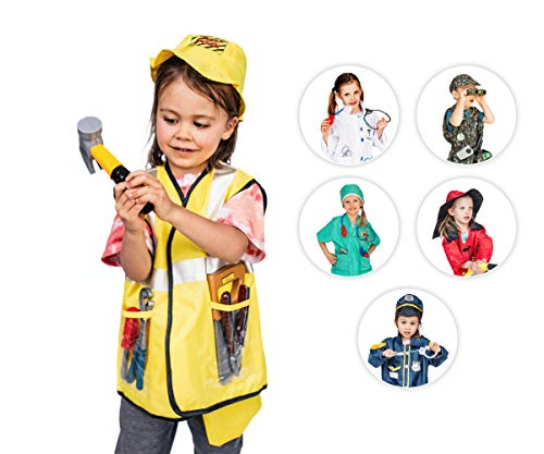 Dress Up America Jeu d'habillage de jeu de rôle d'ouvrier de construction d'enfants