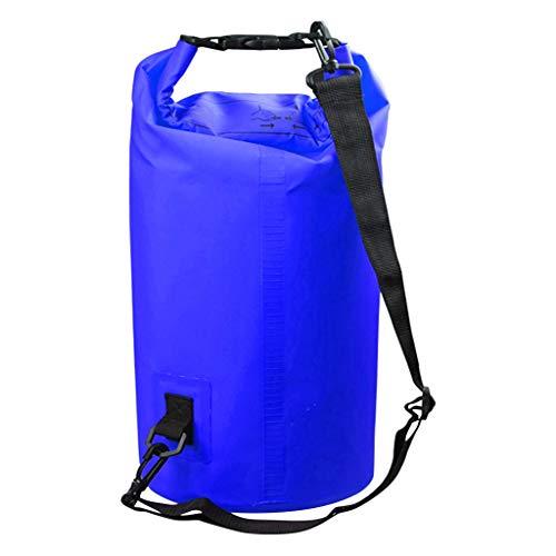 Sac de voyage pliable en PVC avec clip en maille, étanche, sac de rafting, sport