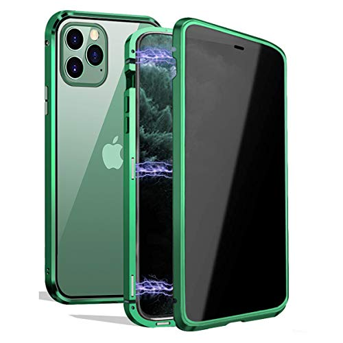 small Privacy magnetic case for iPhone 11 Pro Max, magnetic eye protection cover [Magnet Metal Bumper]…