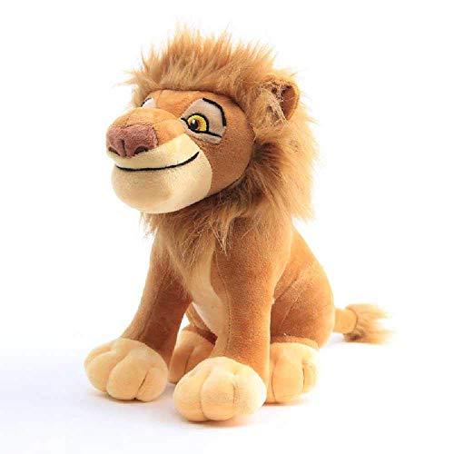 Yppss Lion Simba Vater Mufasha Plüschtier Cartoon Doll Doll Kissen Simbas Vater Mufasa Eternal (Color : Simba's Father Mufasa)