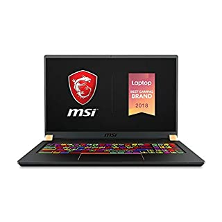 "MSI GS75 Stealth-413 17.3"" Gaming Laptop, 144Hz Display, Thin Bezel, Intel Core i7-9750H, NVIDIA GeForce GTX1660Ti, 16GB, 1TB NVMe NVMe SSD, Thunderbolt 3 (B07QF66XK4) 