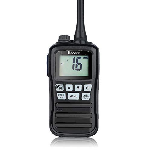 Radio Marine RS-25M IPX7 Talkie-walkie Émetteur-Récepteur Radio Marin VHF Étanche Professionnel...