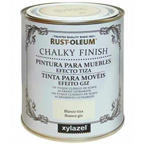 Rust-Oleum Chalky Finish Turquesa 750 ML BRUGUER, Negro