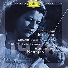 Anne-sophie Mutter: Mozart Violin Concerto No. 5, Bruch Violin Concerto