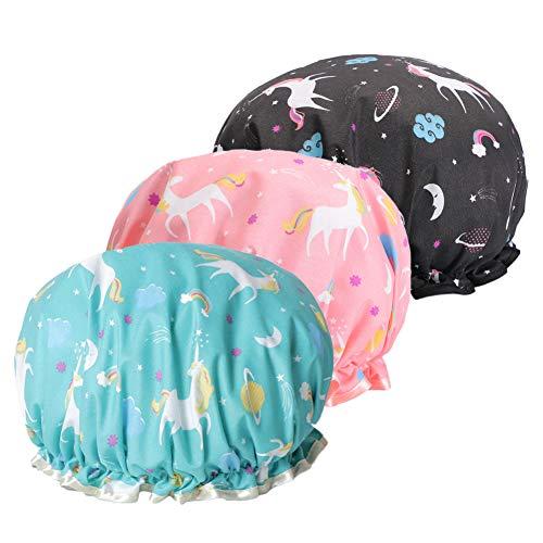 Bonnet de douche, Bonnet de Douche EVA Shampoo Cap...