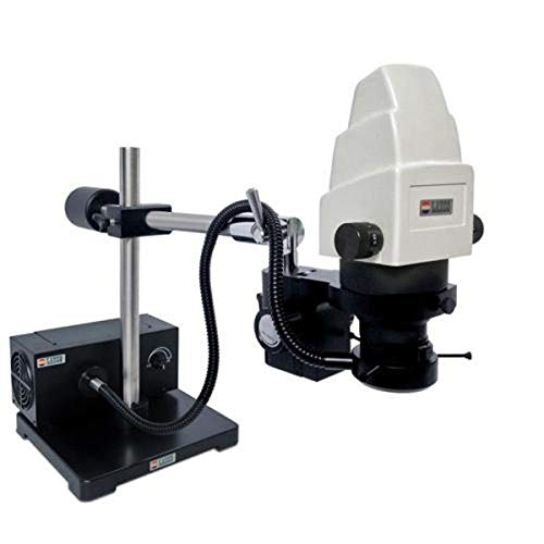 Laxco BM300-Z33 Series BM300 Stereo Microscope, Trinocular Broad Range Zoom Head, 6.5X to 60X Magnification Range, 110V