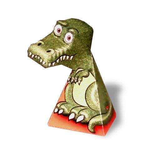 T Rex Illusion Template