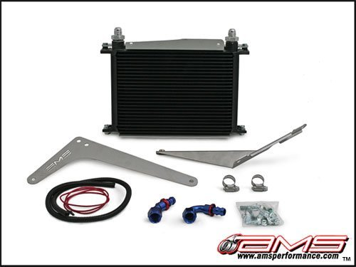 AMS SST Transmission Cooler Kit for 2008-15 Mitsubishi Evo X 10 / Ralliart