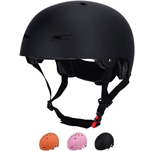 GoYonder Kinderhelm Alter 3 Kleinkinder Fahrradhelm Kinder Skateboard Helm für 3-13 Jahre alt Jungen Mädchen Verstellbarer Helm für Radfahren Fahrrad Skateboard Roller Inline Skating CE Zertifiziert