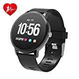 BingoFit Epic Fitness Tracker Smart Watch, Activity Tracker with Heart Rate Monitor, Waterproof Pedometer Watch with Sleep Monitor, Step Counter for Men Women Kids