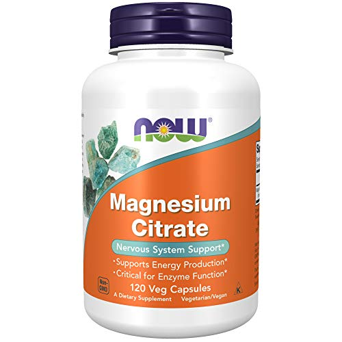 Now Foods Magnesium Citrate Veg-capsules, 120-Count