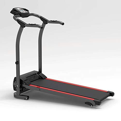 Wdonddonpbj cinta de correr Cinta de correr, cintas de correr plegable eléctricos con pantalla LCD y el pulso Grips suave y silencioso Driven for el hogar Home Gym Fitness Workout Cinta de correr moto