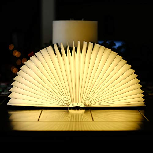 Lámpara LED de mesa para leer con cable USB de color blanco cálido, 2500mAh, batería de litio, Lámpara de escritorio portátil [Clase energética A + +]