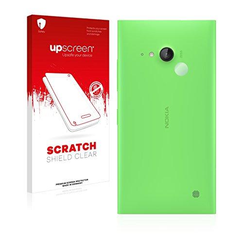 upscreen Schutzfolie kompatibel mit Nokia Lumia 730 Dual SIM (NUR Kamera) – Kristallklar, Kratzschutz, Anti-Fingerprint