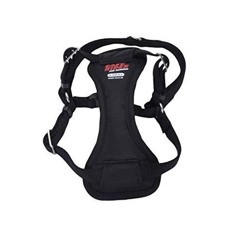 Coastal - Easy Rider - Adjustable Dog Car Harness, Black, XSM (12