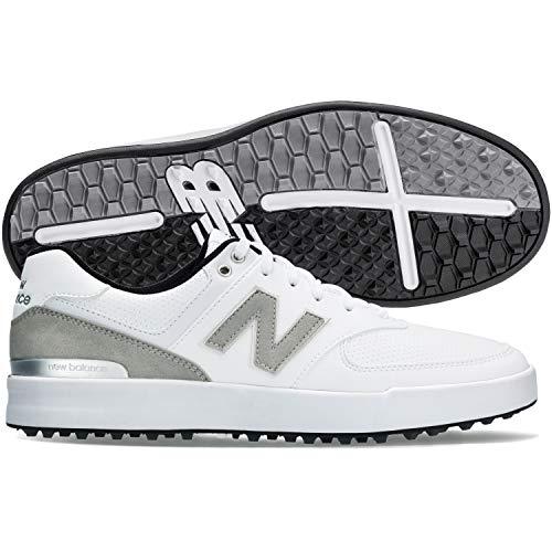 New Balance 574 Greens Golfschuhe für Herren, Weiß, 42