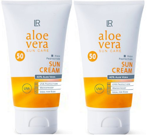 1a LR 3753 Aloe Vera SUN CARE Set - Sonnencreme - Sun Cream --- LSF 50 --- 2x 75ml