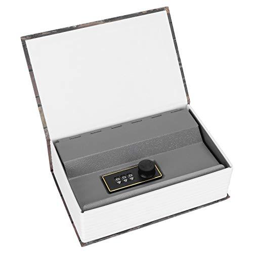 Caja de Seguridad Caja de Seguridad Exquisita Mano de Obra Buen ocultamiento Caja de Dinero Caja de Seguridad para Ahorrar Monedas Tarjetas bancarias
