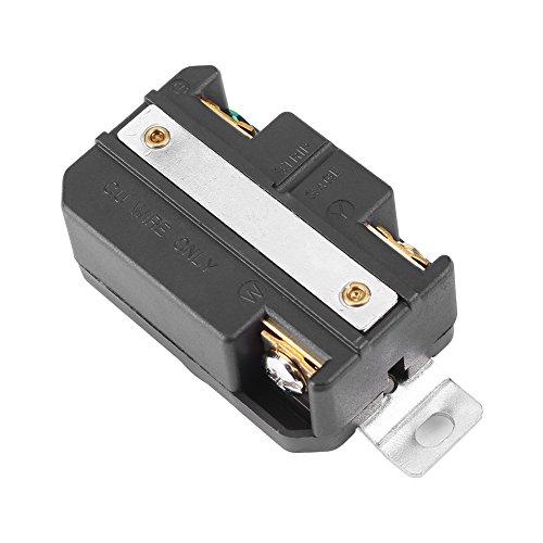 Receptáculo eléctrico hembra Mini Receptáculo de bloqueo giratorio de 1 pieza NEMA...
