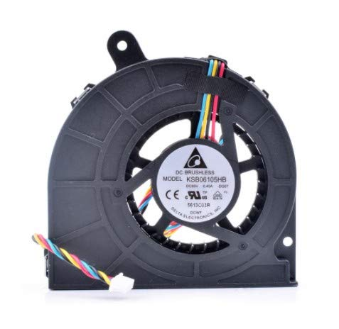 N / A Turbo Fan KSB06105HB-DG07,DC5V 0.40A, Notebook Computer Built-in CPU Cooling Fan
