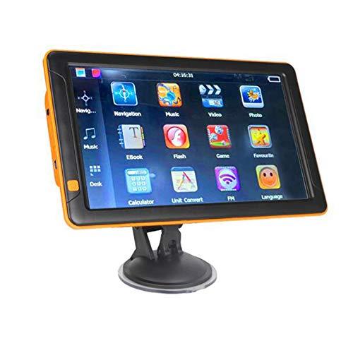 LIBAITIAN GPS Navigator 9 Zoll 256MB + 8G Kapazitiven Bildschirm Tragbare GPS Navigation für Auto LKW Navi GPS Amerika/australien/Europa Karte