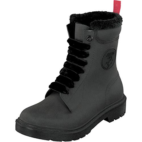GOSCH SHOES Damen Schuhe PVC Boots Stiefel 71051-301B in 3 Farben (38 EU, Schwarz)