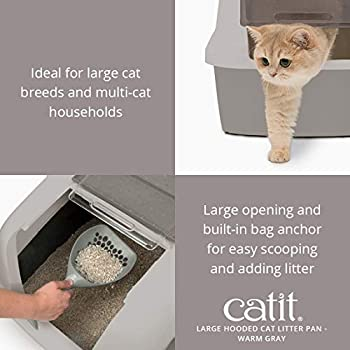 Cat it Maison de Toilette pour Chat