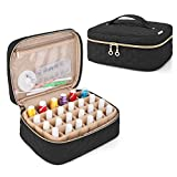 Yarwo Nail Polish Carrying Bag Holds 24 Bottles (15ml/0.5 fl.oz), Travel Storage Organzier for Nail Polish and Manicure Accessories, Black (Bag Only, Patented Design)