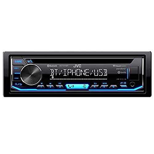 JVC KD-TD90BTS CD Receiver Featuring Bluetooth/USB/SiriusXM/Pandora/iHeartRadio/Spotify / 13-Band EQ