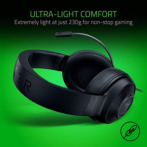 Razer Power Up Bundle - Esports Gaming Set bestehend aus Razer Cynosa Lite Tastatur (Qwertz DE-Layout), Razer Viper Maus und Razer Kraken X Lite Headset