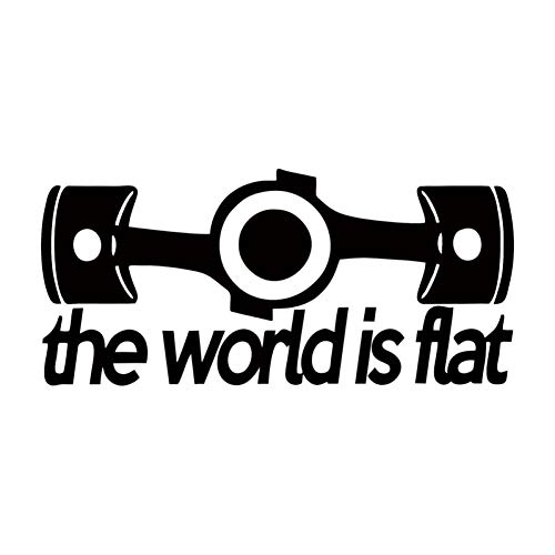 CTMNB autosticker, vlakke sticker, auto, styling, grappige hooligan vinyl, decoratieve autoruit