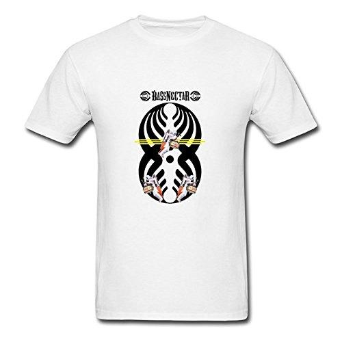 gabrihuff tamaño estilo personalidad color superior ropa–Bassnectar camisetas impresión, Hombres