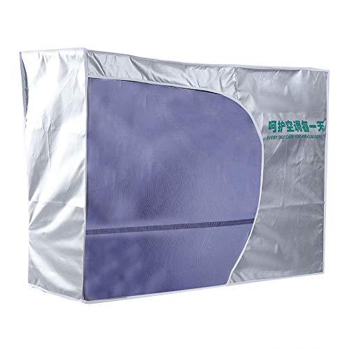 Copri Condizionatore d'Aria, Condizionatore d'Aria Esterno Resistente al Sole Impermeabile Coperchio Antipolvere della Macchina per Finestra Esterna di Casa Inverno(#3)