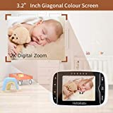 Zoom IMG-2 hellobaby baby monitor hb65 con